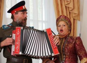Lieder vom freien Leben in der Steppe: Singende Kosaken in Starotscherkassk am Don. (Foto: Laarz)