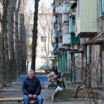 """""""Wir sind wirtschaftlich zu schwach für die EU"""", sagt Präsident Viktor Janukowitsch: Alltag im ostukrainischen Charkiw. (Foto: Krökel)"""