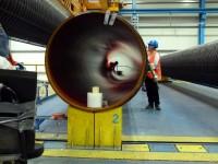 Röhrenbau auf Rügen: Alles wurde rechtzeitig feritg, das GAs kann strömen. (Foto: Krökel)