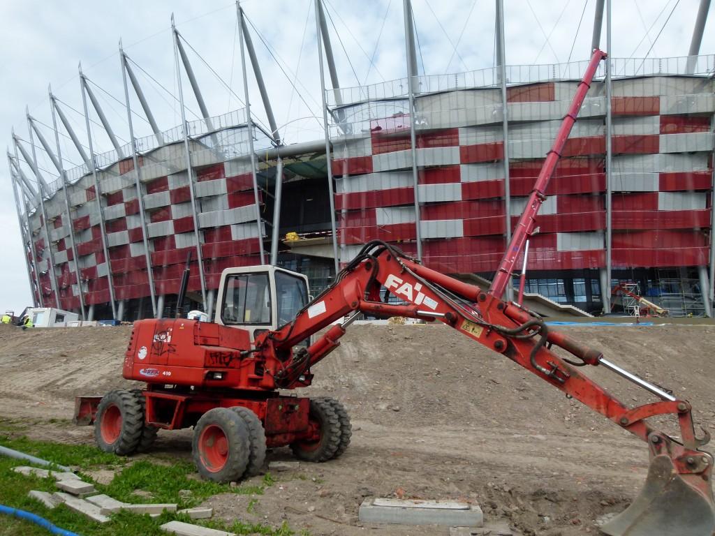 Fleißig, fleißig! In einem Kraftakt errichtete Polen vor der Fußball-EM 2012 neue Stadien, baute Autobahnen und Flughäfen. (Foto: Krökel)
