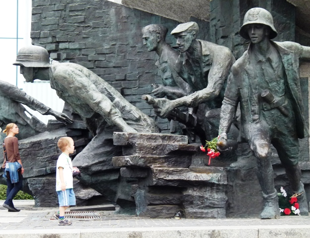Denkmal für die Kämpfer der Heimatarmee AK in Warschau. (Foto: Krökel)